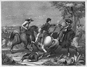 Latin American Prints - Mexican War: Cavalry Print by Granger