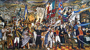 Mural Photos - Mexico: 1810 Revolution by Granger