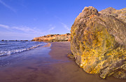 Baja California Sur Prints - Mexico, Gulf Of California, Baja California Sur, View Of Sandy Beach Print by DKAR Images