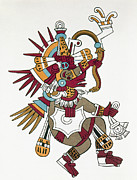 Native Ruler Prints - Mexico: Quetzalcoatl Print by Granger