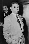 Gangster Metal Prints - Meyer Lansky 1902-1983, Underworld Metal Print by Everett