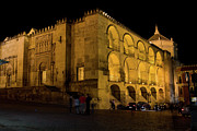 Great Mosque Framed Prints - Mezquita at Night in Cordoba Framed Print by Artur Bogacki