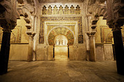Mezquita Mihrab In Cordoba Print by Artur Bogacki
