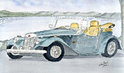 Classic Cars Originals - Mg by Eva Ason
