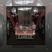 Kirkland Prints - MG TC Bronze Frontal -METAL PRINT RECOMMENDED Print by Curt Johnson