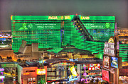 Renaissance Digital Art - MGM Grand Las Vegas by Nicholas  Grunas