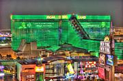 Mgm Grand Las Vegas Print by Nicholas  Grunas