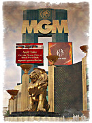 Tree Art Print Framed Prints - MGM Marquee - IMPRESSIONS Framed Print by Ricky Barnard
