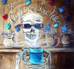 Ghosts Paintings - Mi Cafe con Leche by Heather Calderon
