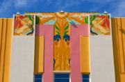 Classic Architecture Prints - Miami Beach Art Deco Print by David Lee Thompson