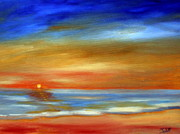 Maria Soto Robbins Art - Miami Beach Sunrise by Maria Soto Robbins