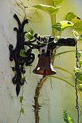 Miami Digital Art Originals - Miami Monastery Bell by Rob Hans