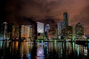 Miami Tapestries Textiles - Miami by Nelson Rodriguez