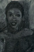 Black Family Pastels - Mias Night Out by John Robinson