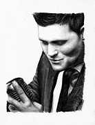 Michael Drawings Originals - Michael Buble by Rosalinda Markle