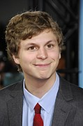 Premiere Photo Posters - Michael Cera At Arrivals For Premiere Poster by Everett
