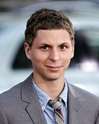 Michael Photo Framed Prints - Michael Cera At Arrivals For Scott Framed Print by Everett