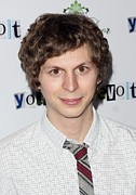 Michael Photo Framed Prints - Michael Cera At Arrivals For Youth In Framed Print by Everett