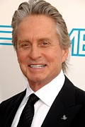 Michael Metal Prints - Michael Douglas At Arrivals For 37th Metal Print by Everett