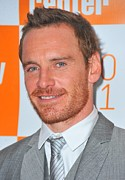 Shame Metal Prints - Michael Fassbender At Arrivals Metal Print by Everett