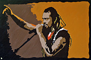 Inspire Paintings - Michael Franti by Steven G Sloan