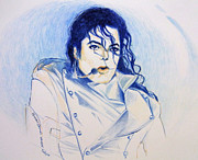 Michael Drawings Framed Prints - Michael Jackson - History Framed Print by Hitomi Osanai