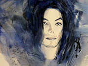 Michael Jackson Metal Prints - Michael Jackson - This life dont last for ever Metal Print by Hitomi Osanai