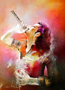 Music Mixed Media - Michael Jackson 05 by Miki De Goodaboom