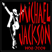 Michael Metal Prints - Michael Jackson 1 Metal Print by Andrew Fare