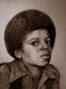 Jackson 5 Drawings - Michael Jackson 5 by Sean Leonard