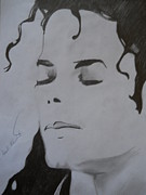 Beat It Prints - Michael Jackson Print by Ahmed Mustafa