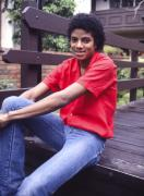 Michael Jackson Metal Prints - Michael Jackson at home. Metal Print by Chris Walter