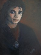 Michael Jackson Metal Prints - Michael Jackson Believe in Your Dream Metal Print by Rose Mary Gates