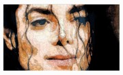 Michael Jackson Metal Prints - Michael Jackson Metal Print by Debora Cardaci