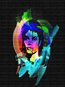 Michael Jackson Print by Mo T