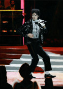 Billie Jean Paintings - Michael Jackson Motown 25 by David Rives