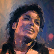 King Of Pop Digital Art - Michael Jackson by Nop Briex