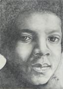 Michael Jackson Print by Stephen Sookoo