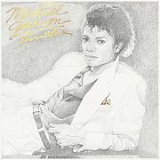 Music Drawings Framed Prints - Michael Jackson Thriller Framed Print by Marcello and Els