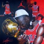 Michael Jordan Print by Luke Morrison