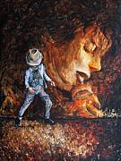 Michael Jackson Paintings - Michael Lives by Nik Helbig