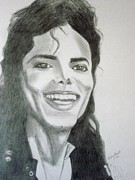 Michael Jackson Art - Michael by Nancy Pratt