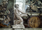 Ceiling Paintings - Michelangelo: Idol by Granger