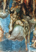 Ceiling Paintings - Michelangelo: St. Barth by Granger