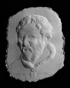 Old Reliefs Originals - Michelangelo by Suhas Tavkar