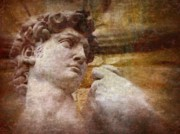 Michaelangelo Prints - Michelangelos David Print by Jen White