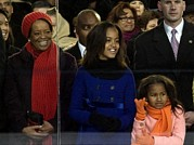 Obama Family Photos - Michelle Obamas Mother Marian Shields by Everett