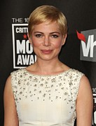 Michelle Prints - Michelle Williams At Arrivals For 16th Print by Everett