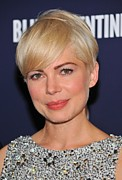 Michelle Photo Posters - Michelle Williams At Arrivals For Blue Poster by Everett