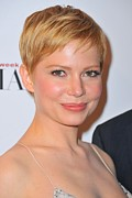 2010s Makeup Framed Prints - Michelle Williams At Arrivals For The Framed Print by Everett